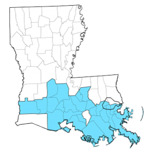Geographic map of LCMI partnership areas