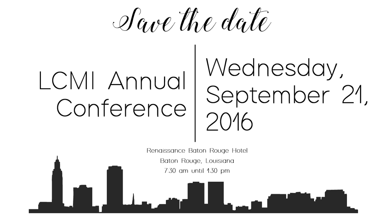 LCMI Save the date